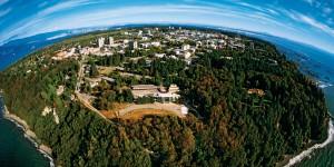 UBC aerial shot